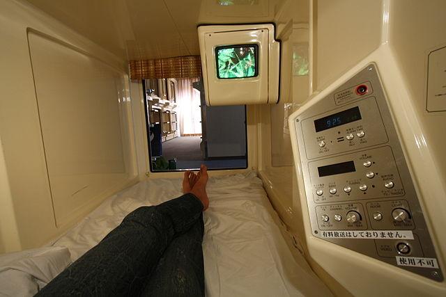 capsule-hotel-a-Osaka